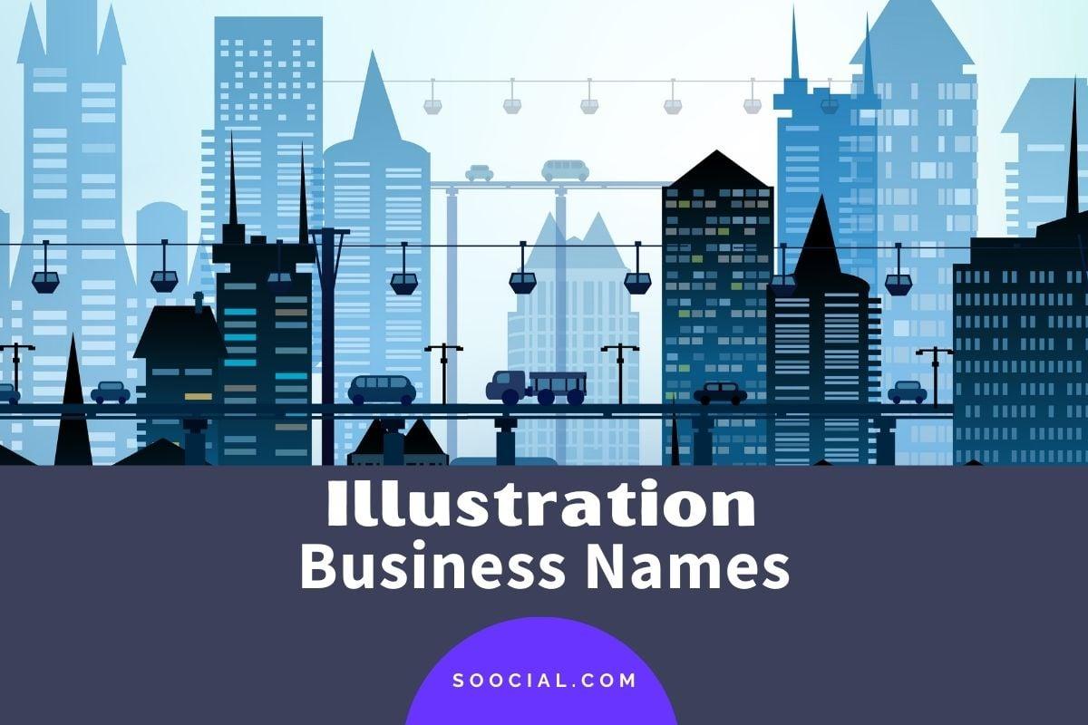 Illustration Business Names
