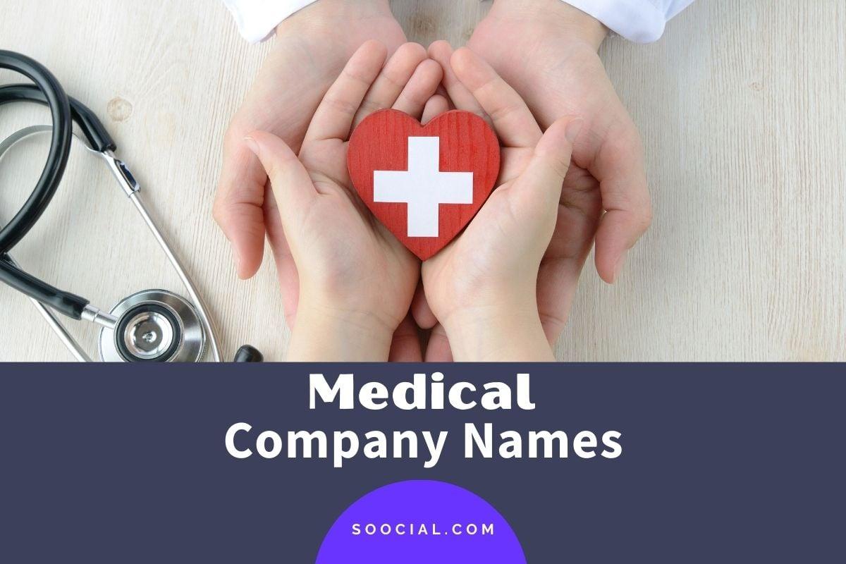 Medical Company Names