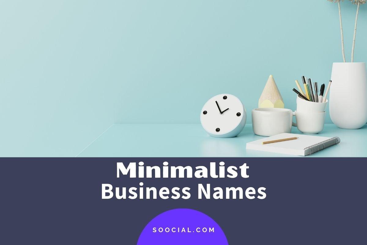 Minimalist Business Names