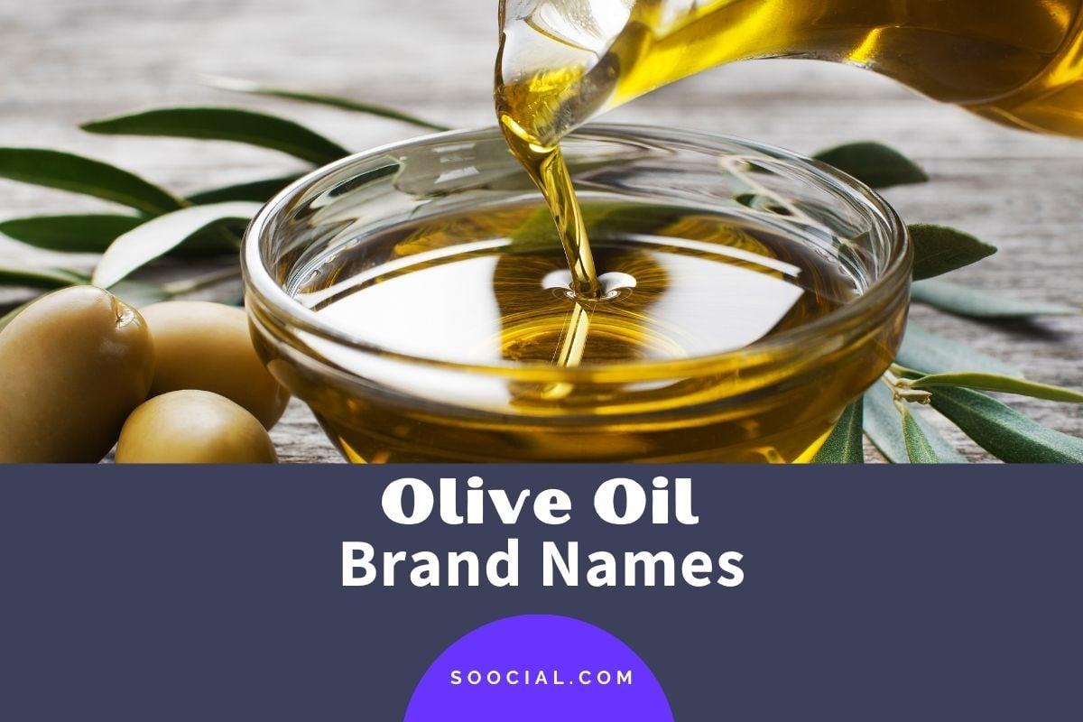 Olive Oil Brand Names
