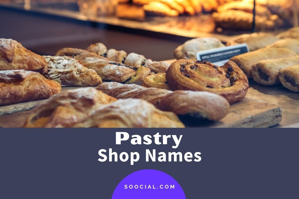 Pastry Shop Names
