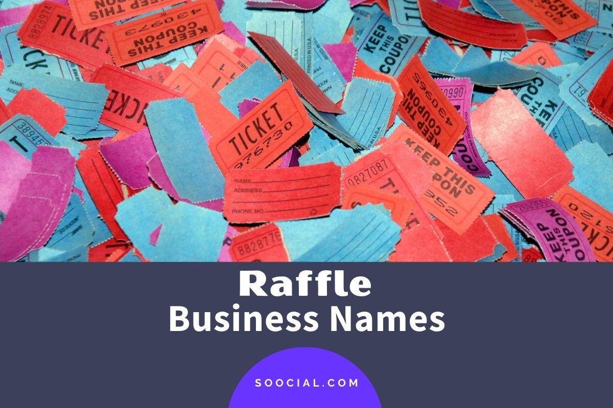Raffle Business Names