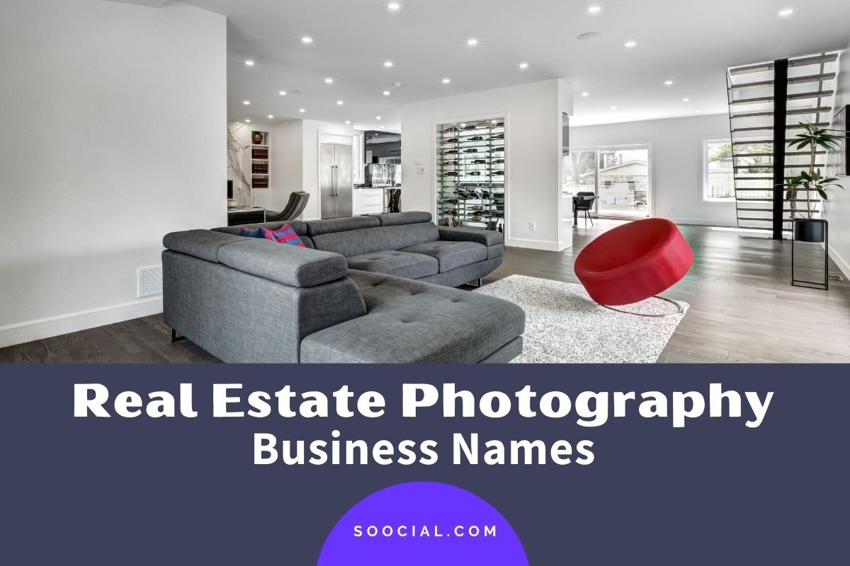 Real Estate Photography Business Names