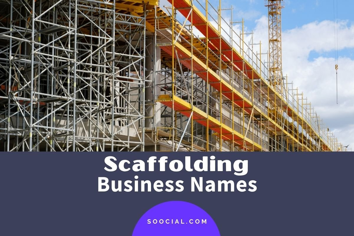Scaffolding Business Names