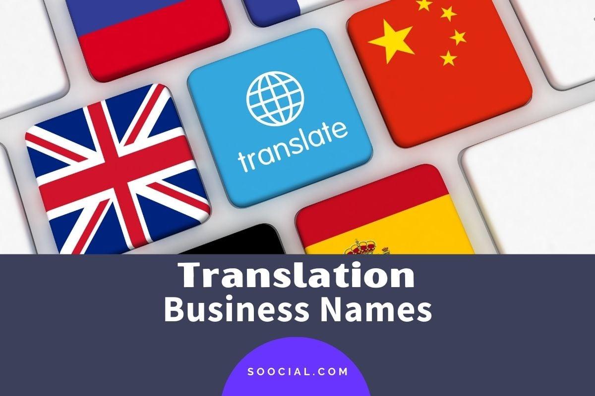 Translation Company Names