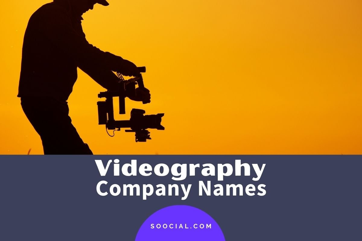 Videography Business Names