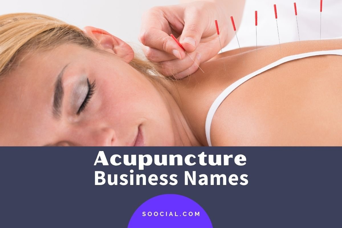 Acupuncture Business Names