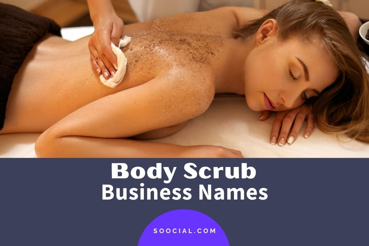 Body Scrub Business Names