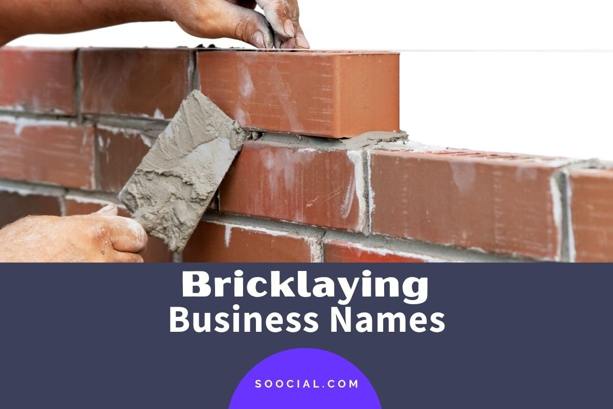 Bricklaying Business Names
