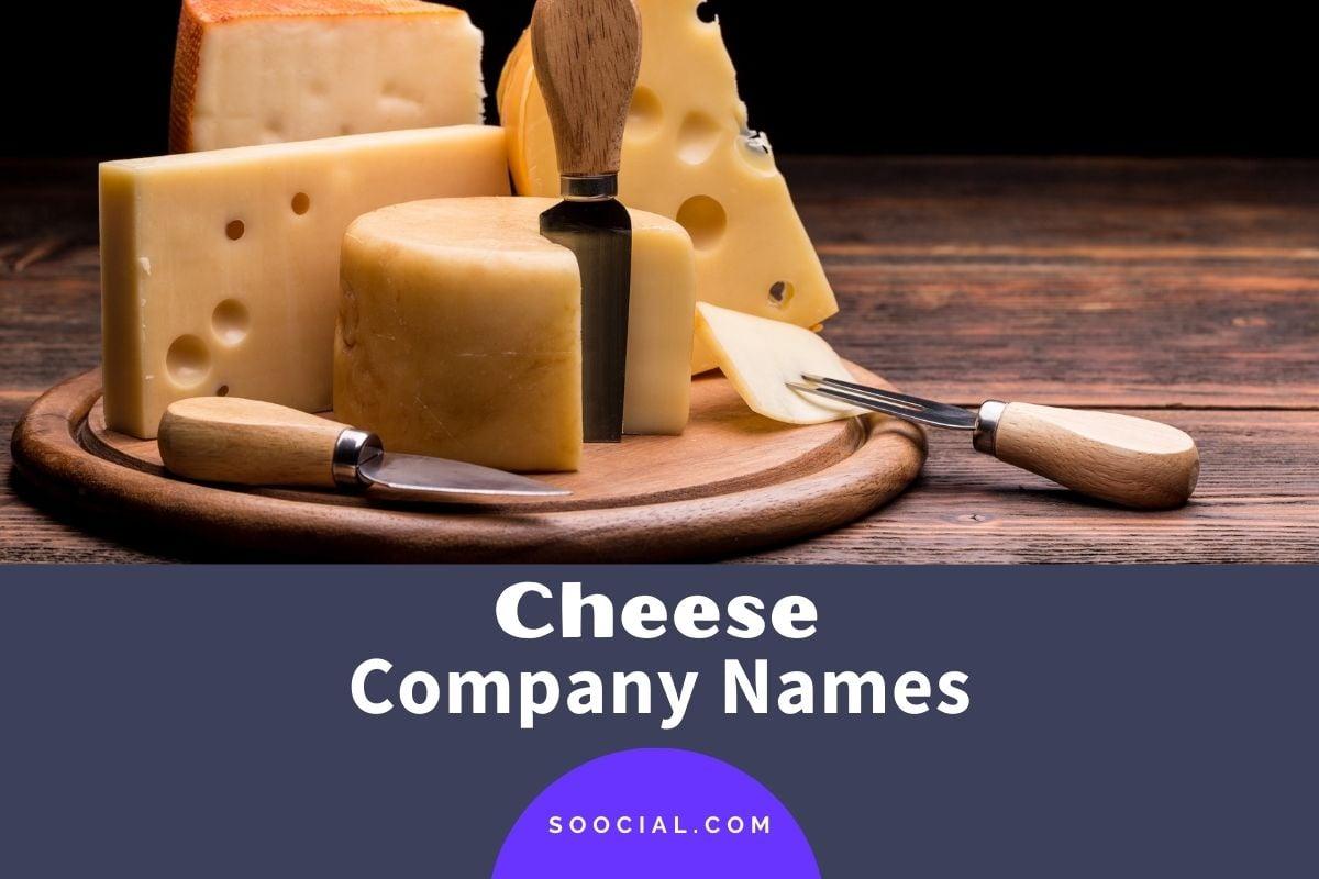 Cheese Company Names