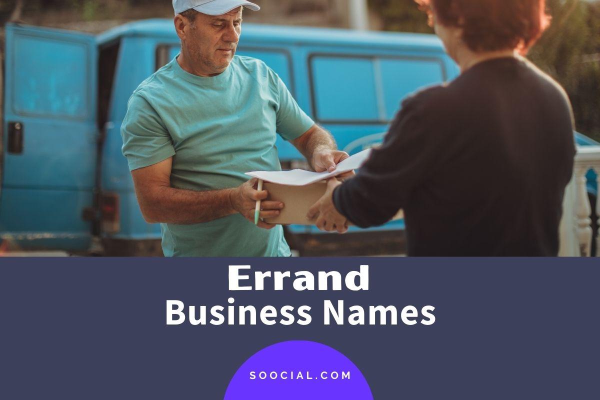 Errand Business Names