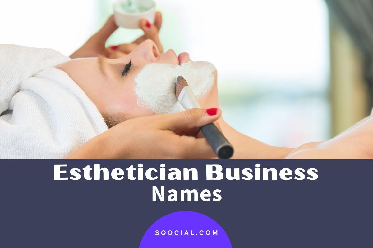 Esthetician Business Names