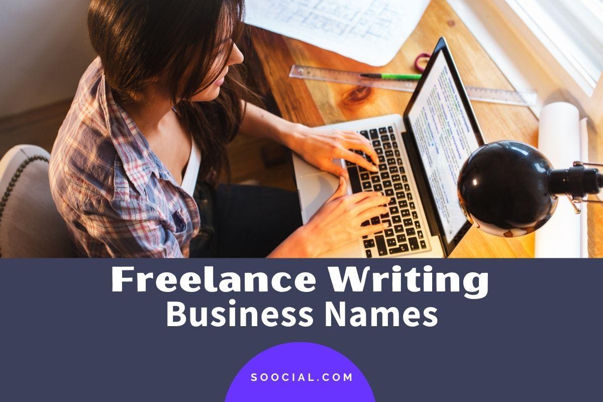 Freelance Writing Business Names