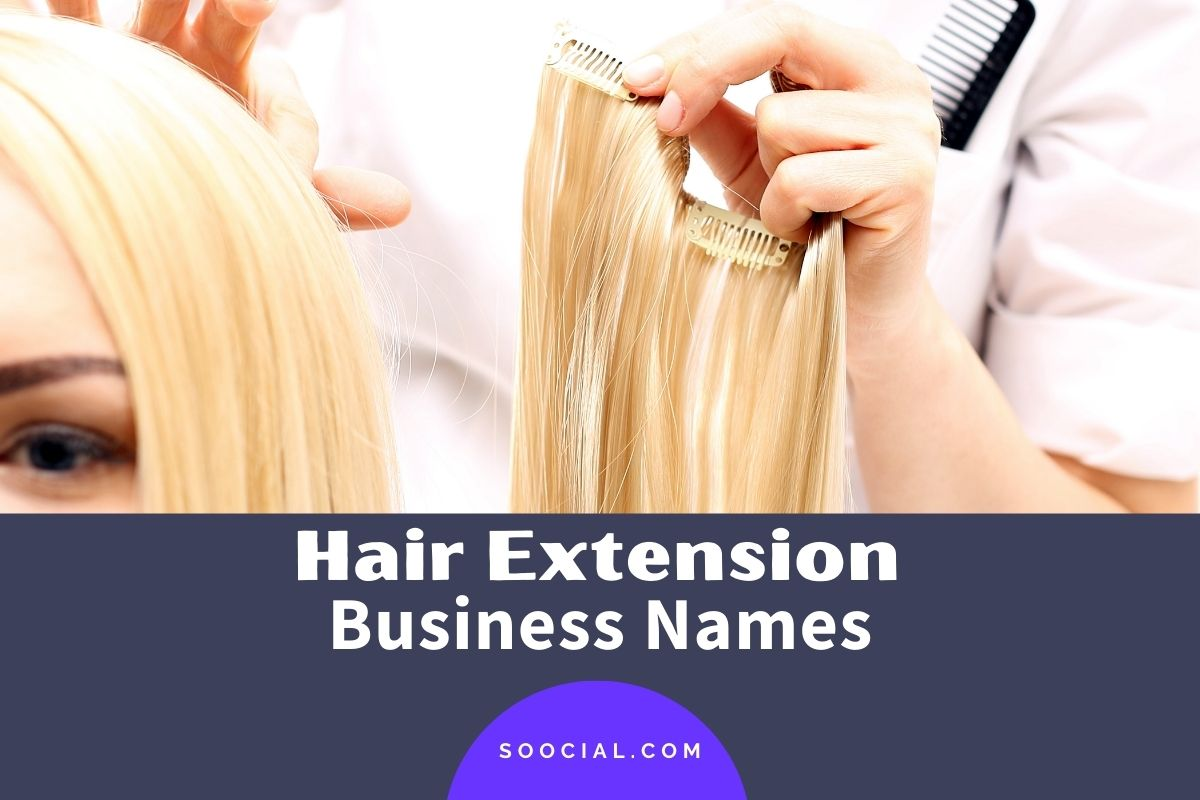 Hair Extension Business Names
