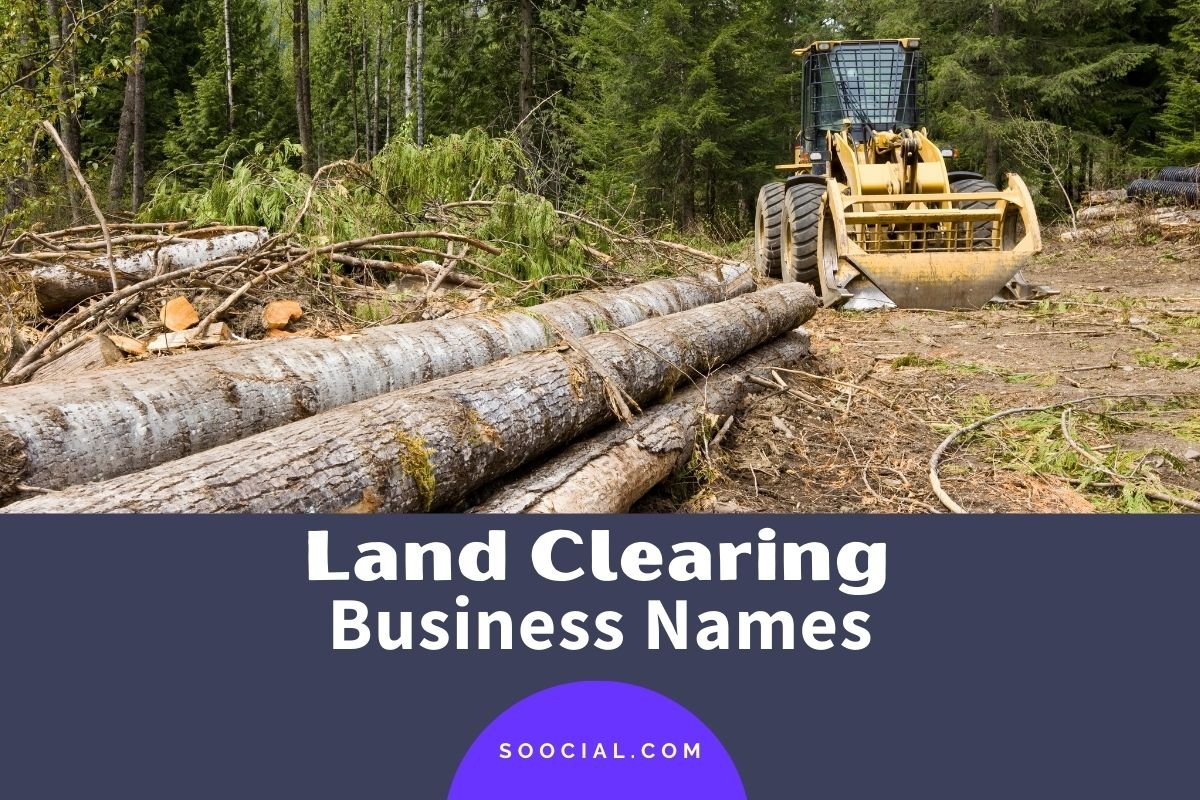 Land Clearing Business Names