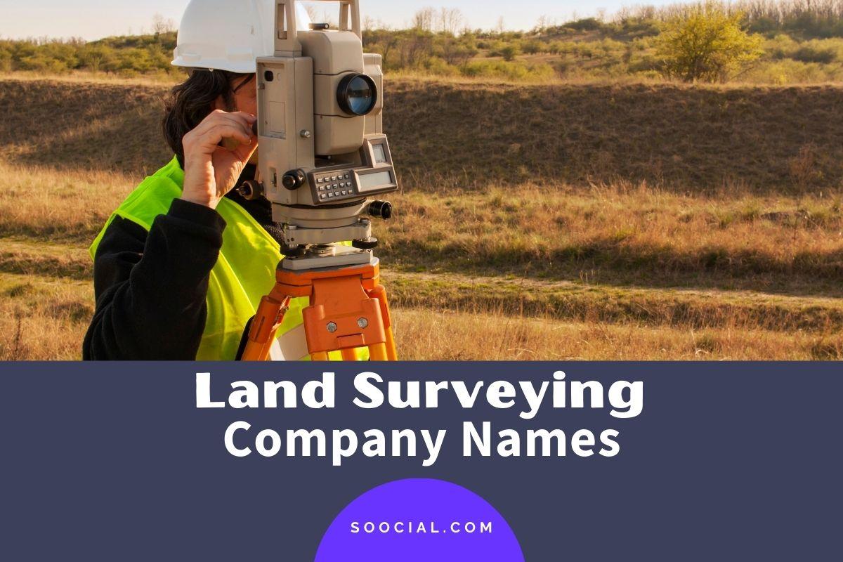 Land Surveying Company Names