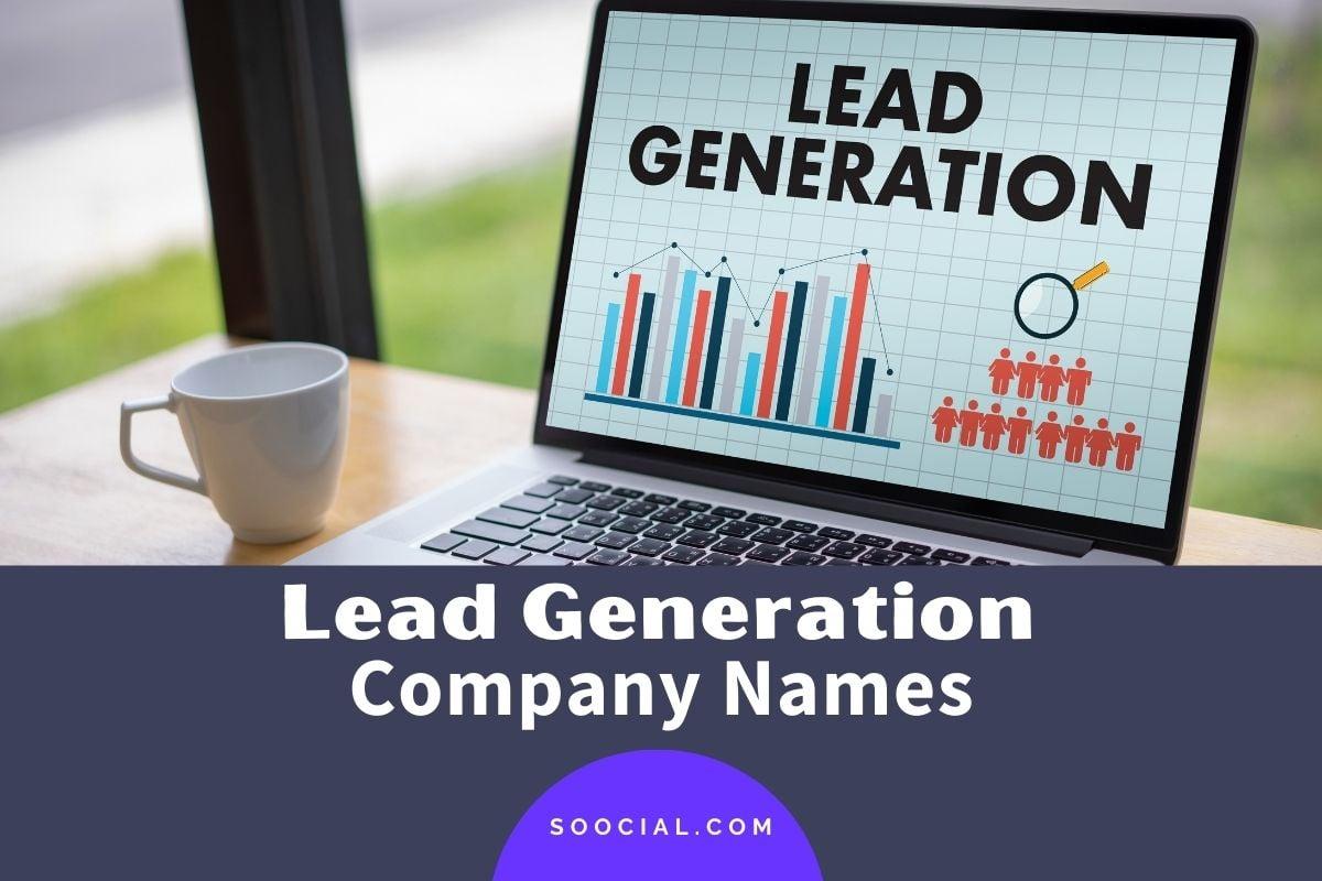 Lead Generation Company Names