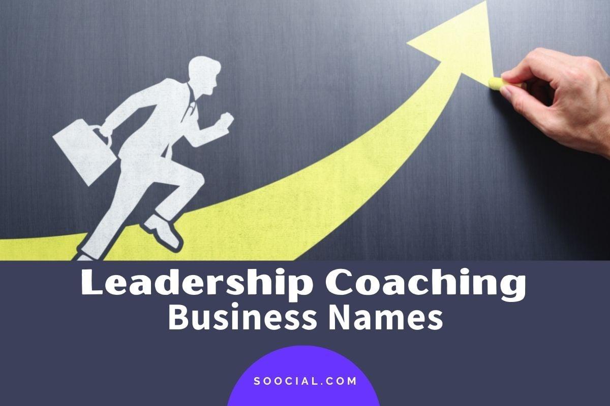 Leadership Coaching Business Names
