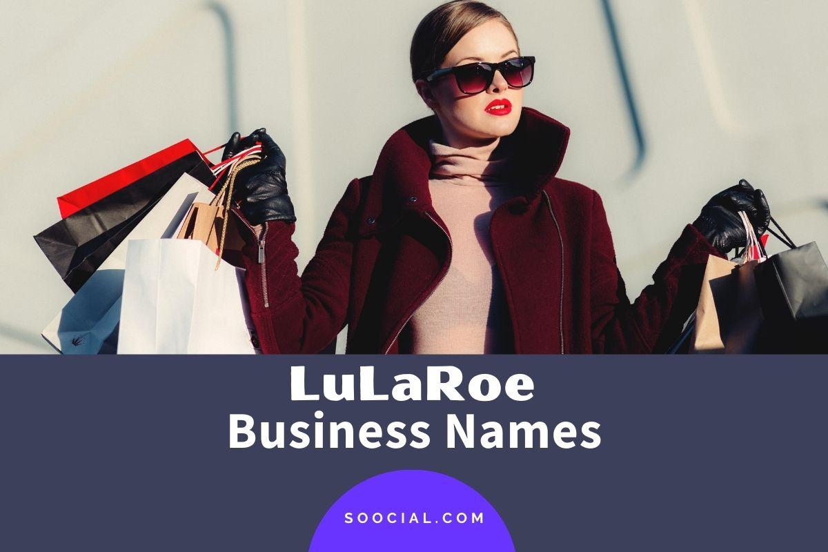 Lularoe Business Names