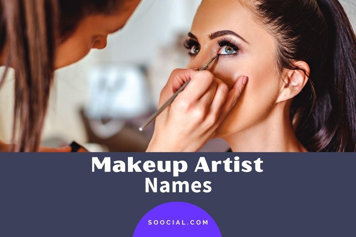 Makeup Artist Names