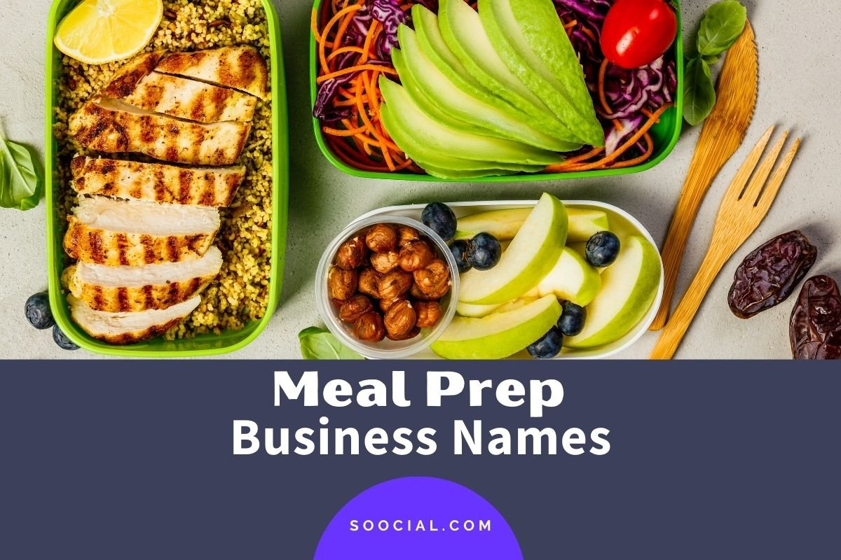 Meal Prep Business Names