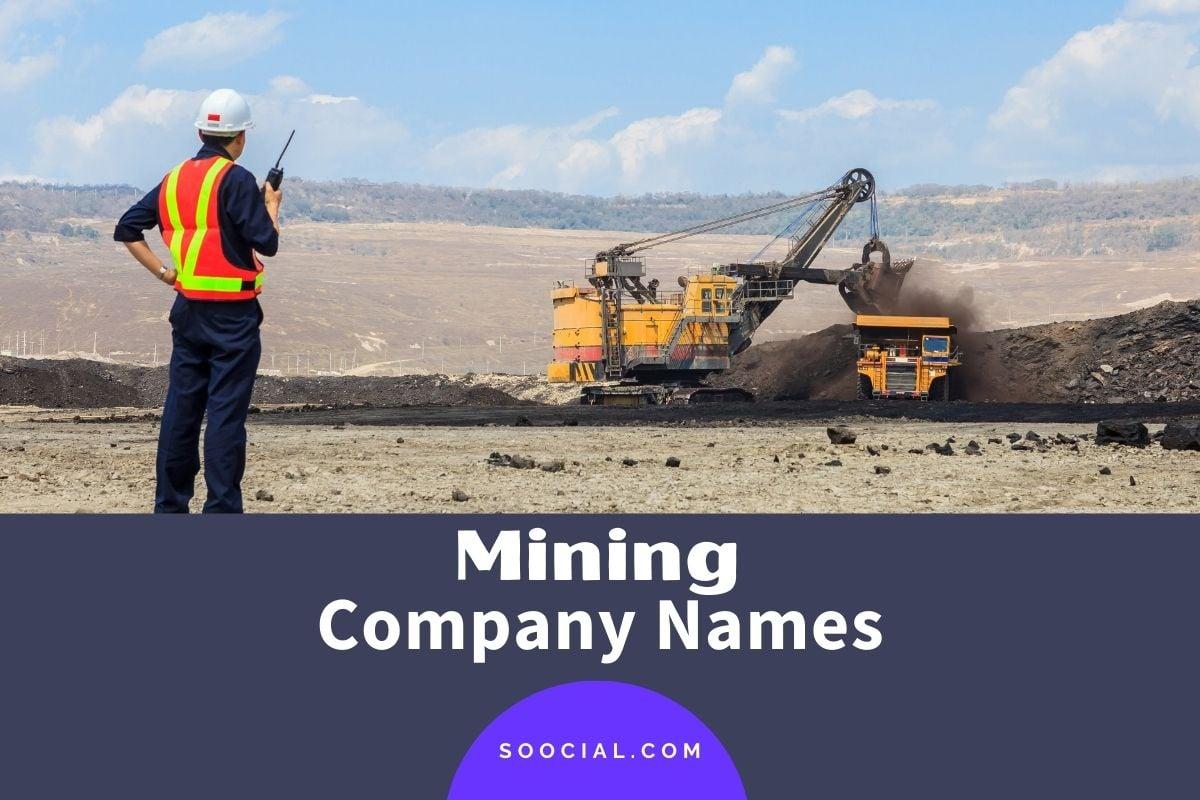 Mining Company Names