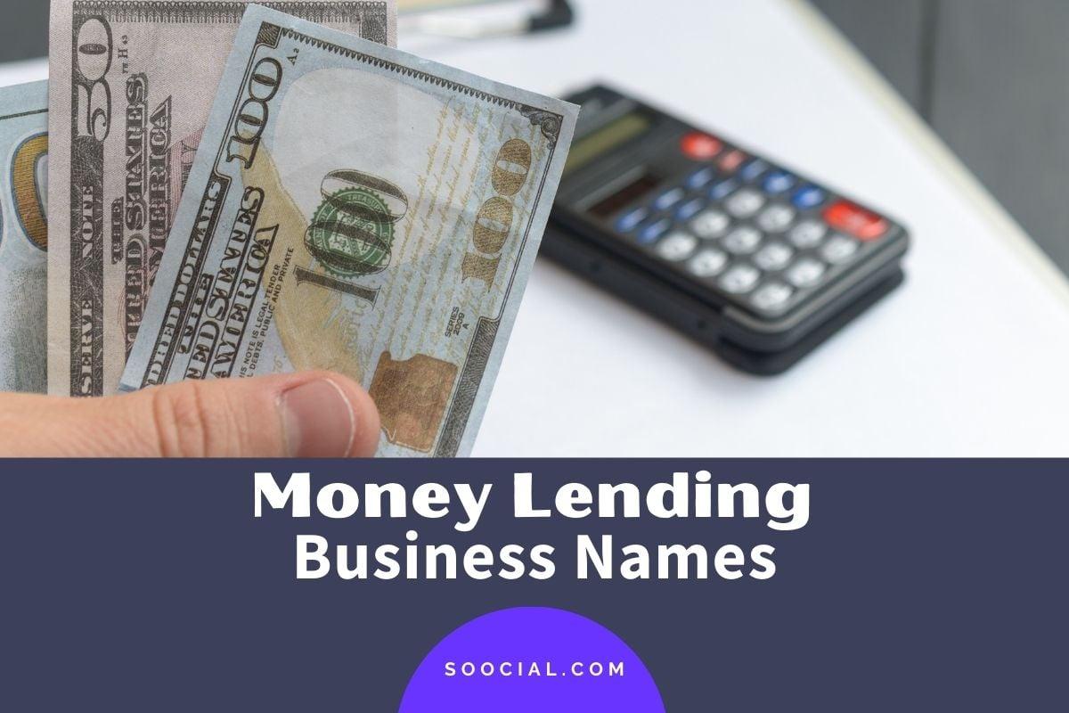 Money Lending Business Names