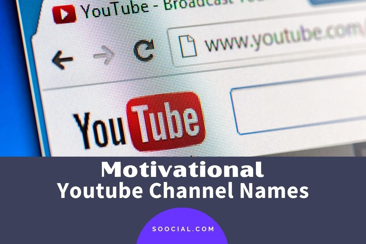 Motivational Youtube Channel Names