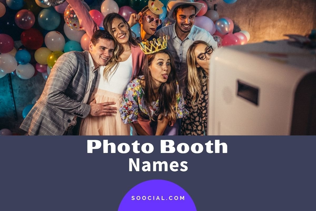 Photo Booth Names
