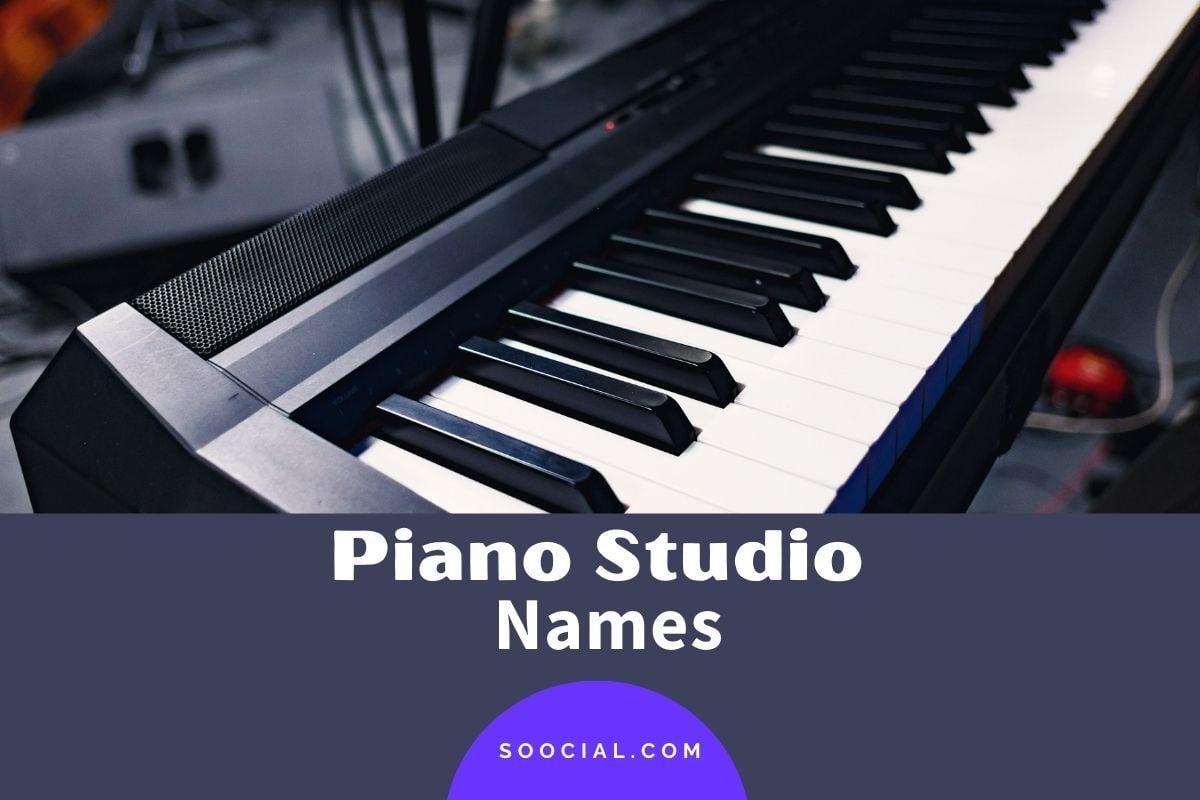 Piano Studio Names