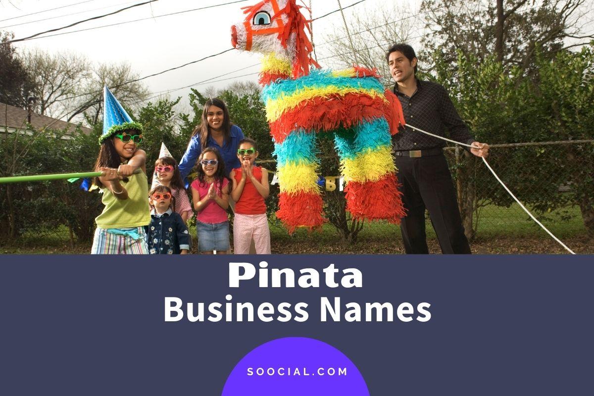 Pinata Business Names
