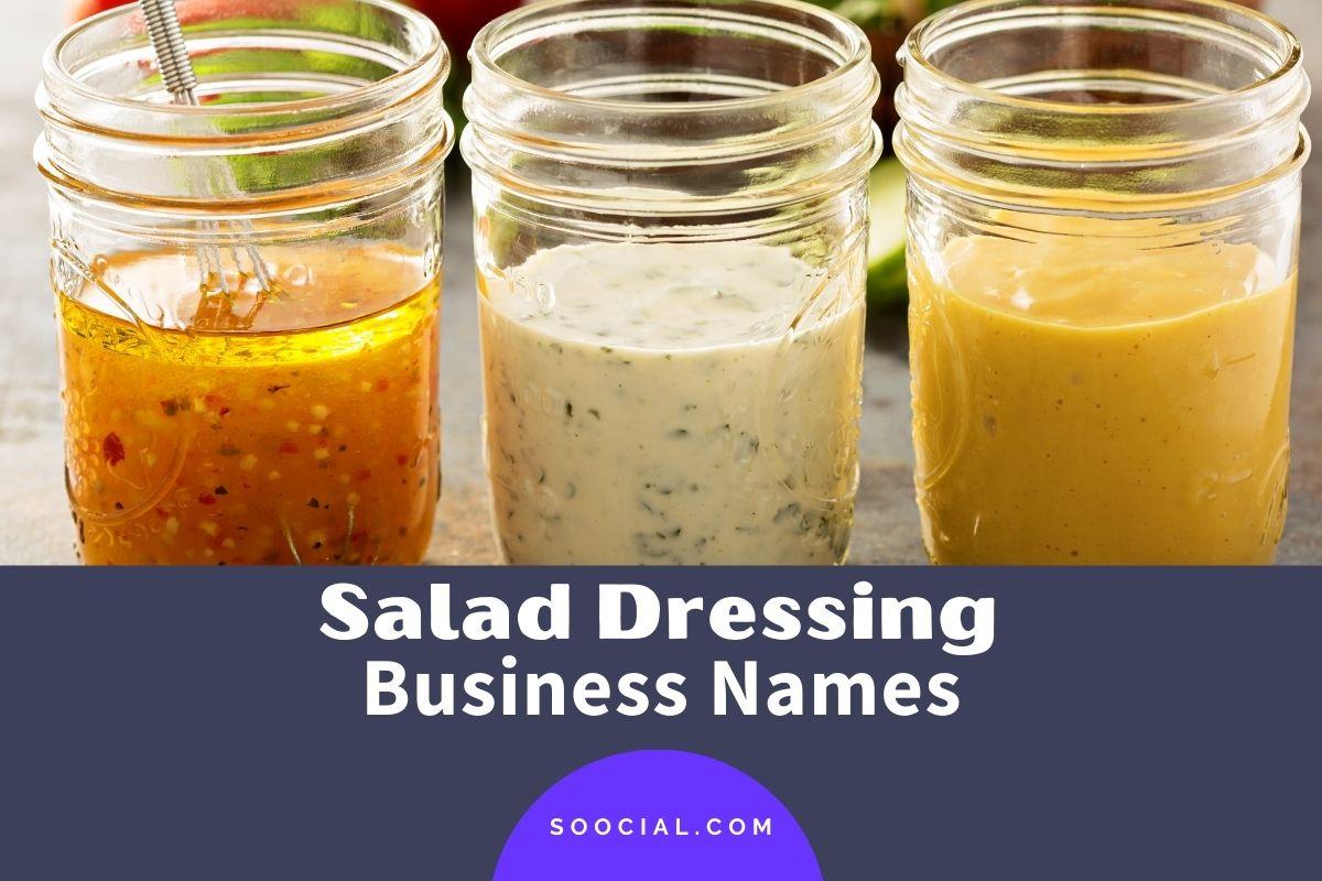Salad Dressing Business Names