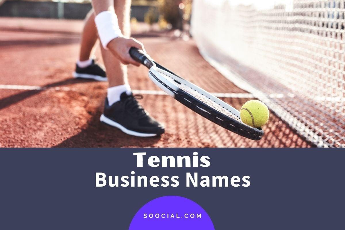 Tennis Business Names