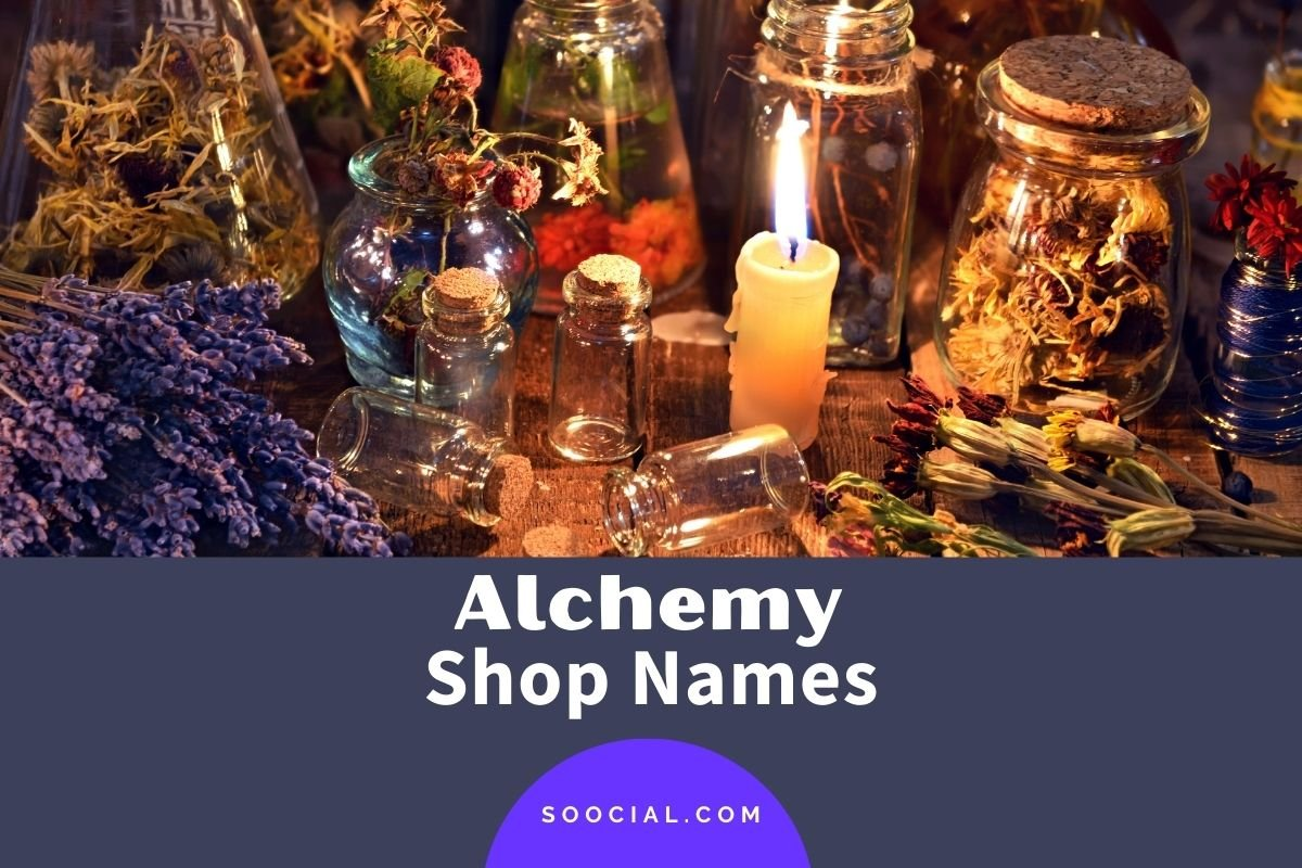 Alchemy Shop Names