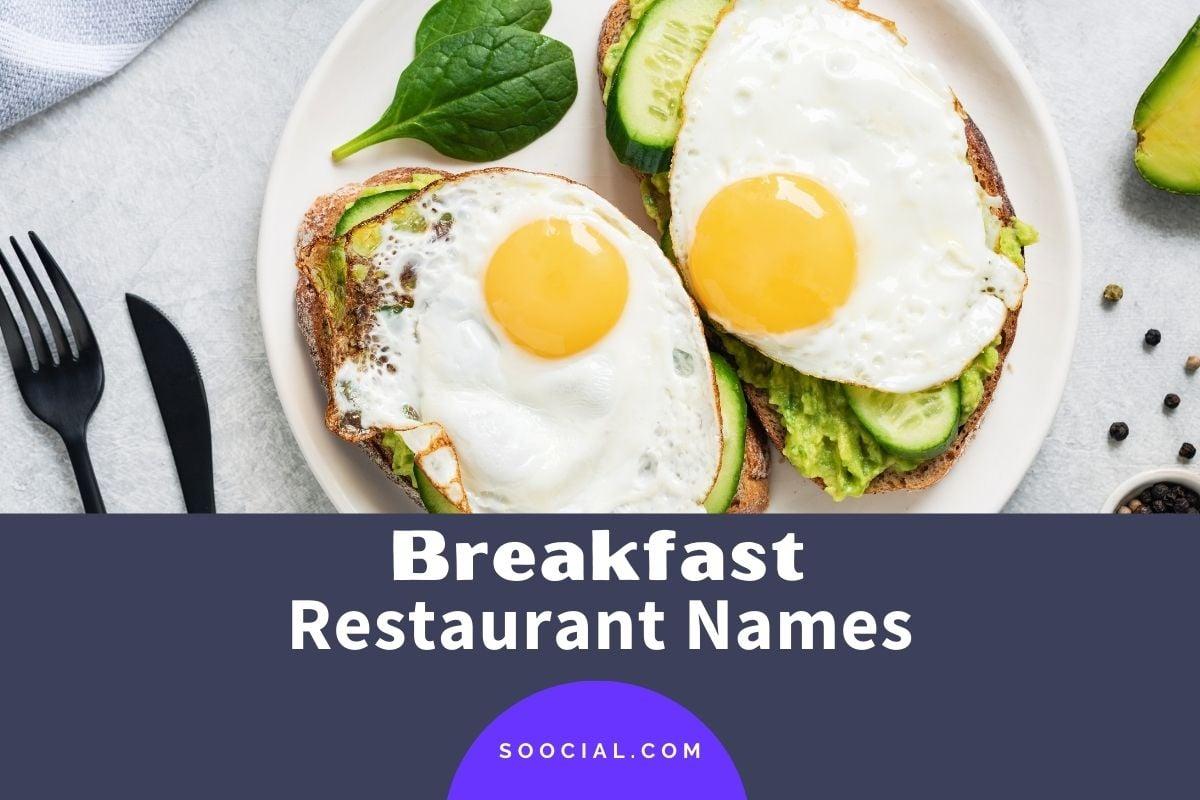 Breakfast Restaurant Names