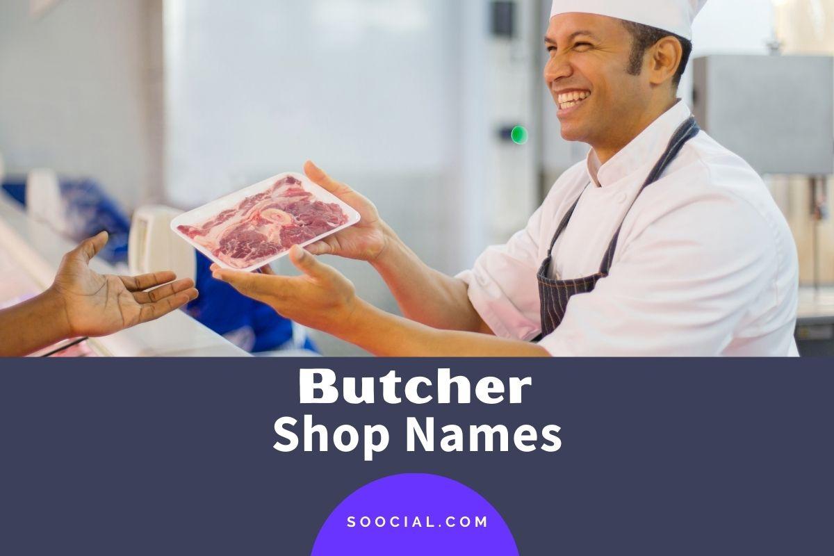 Butcher Shop Names