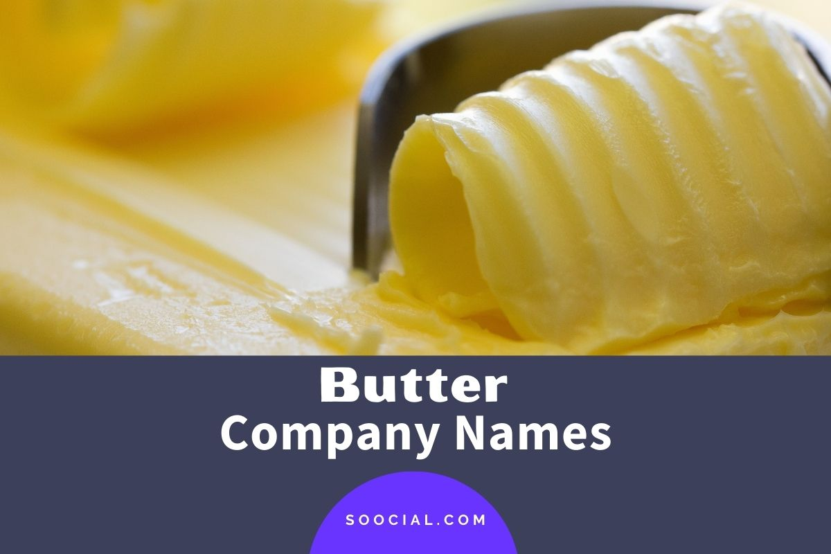 Butter Company Names