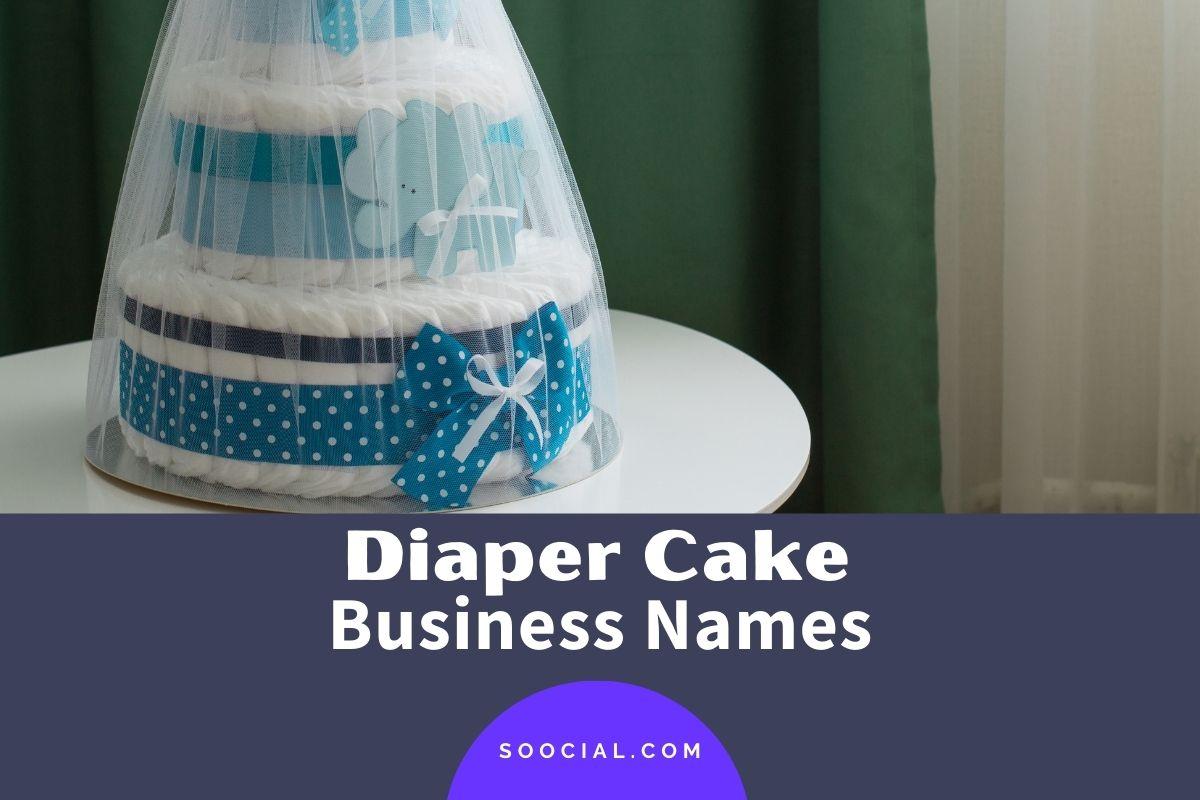 Diaper Cake Business Names