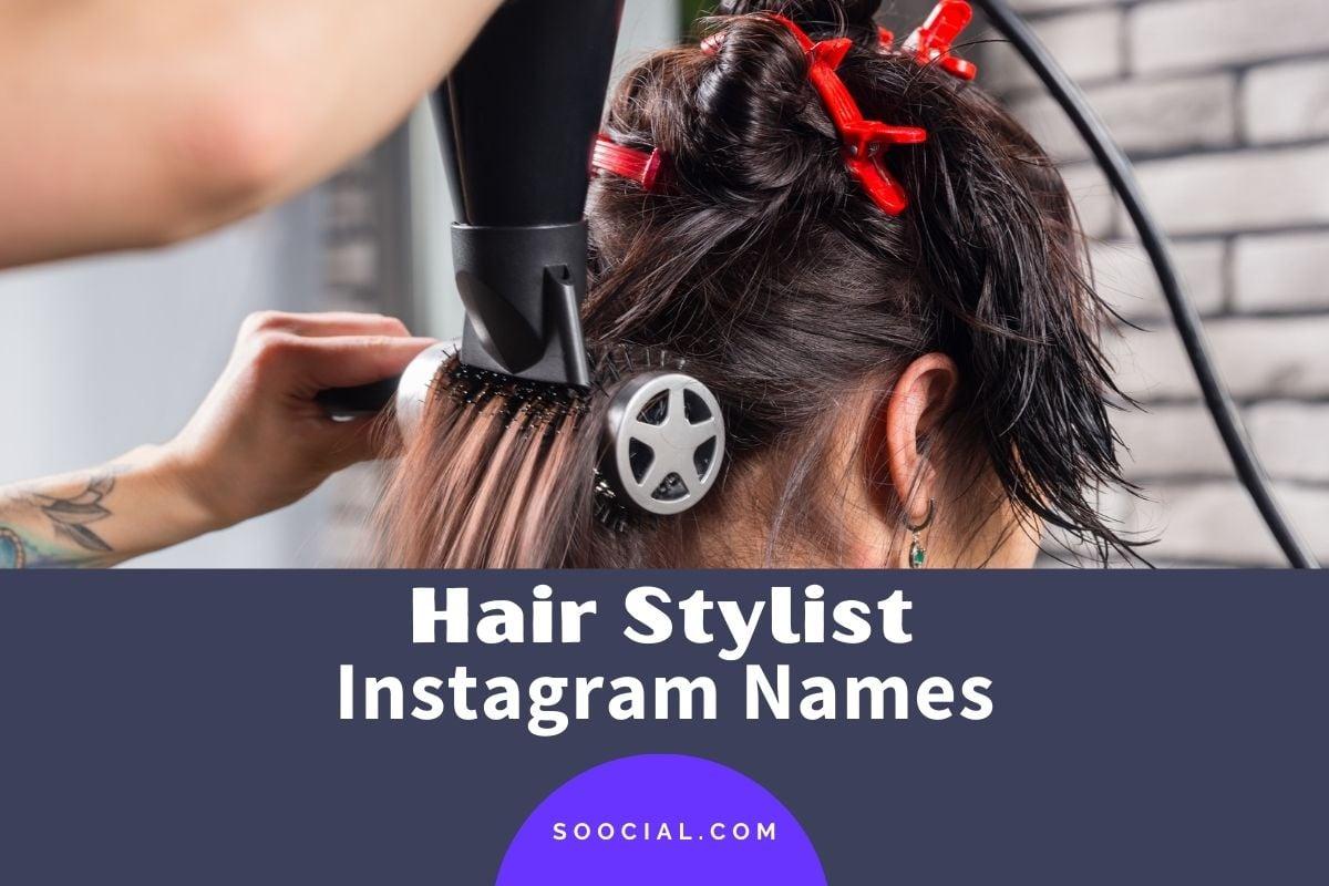 Hair Stylist Instagram Name Ideas