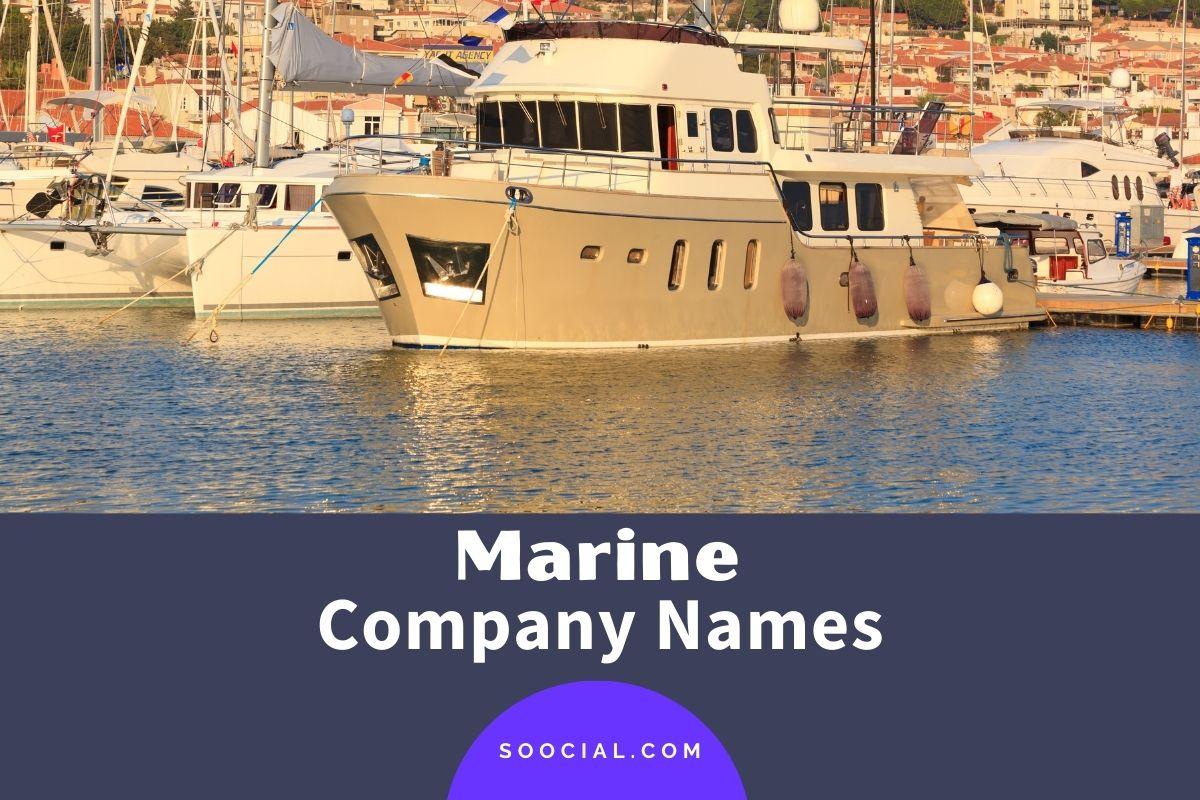 Marine Company Names
