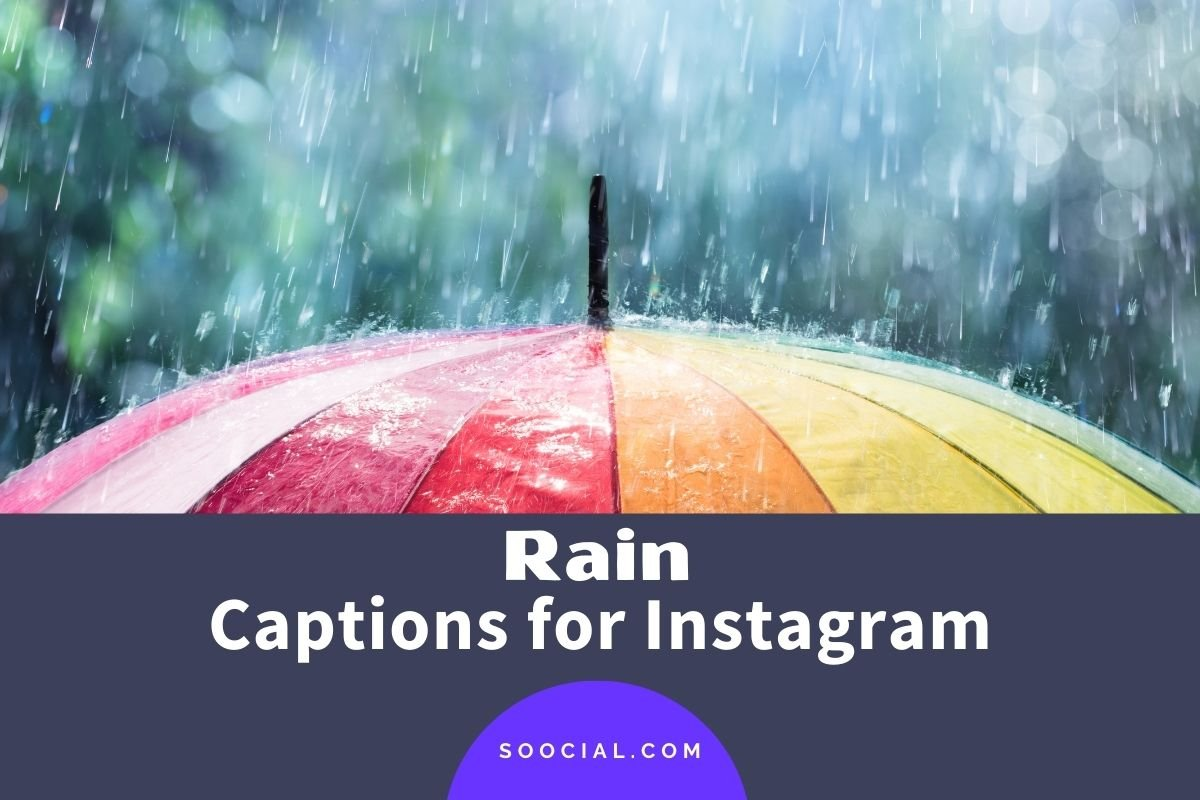 Rain Captions