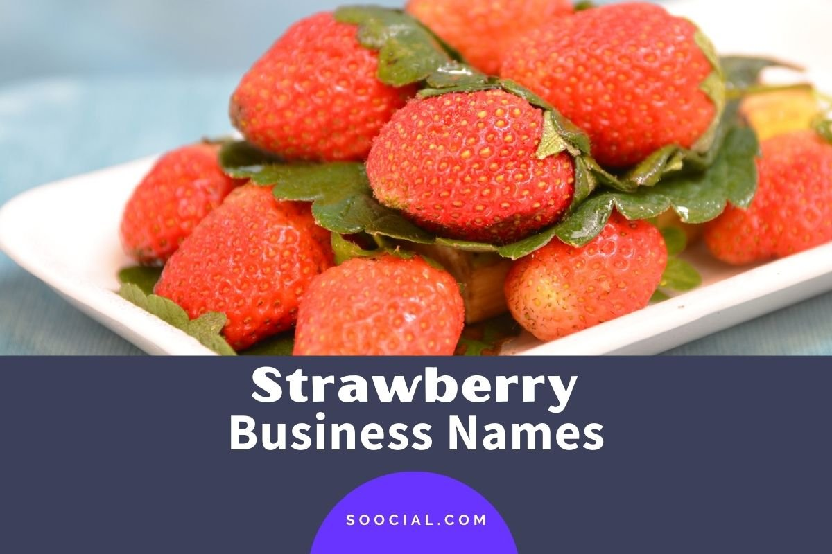 Strawberry Business Names
