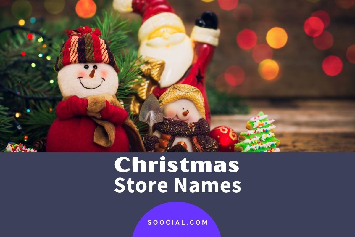 Christmas Store Names