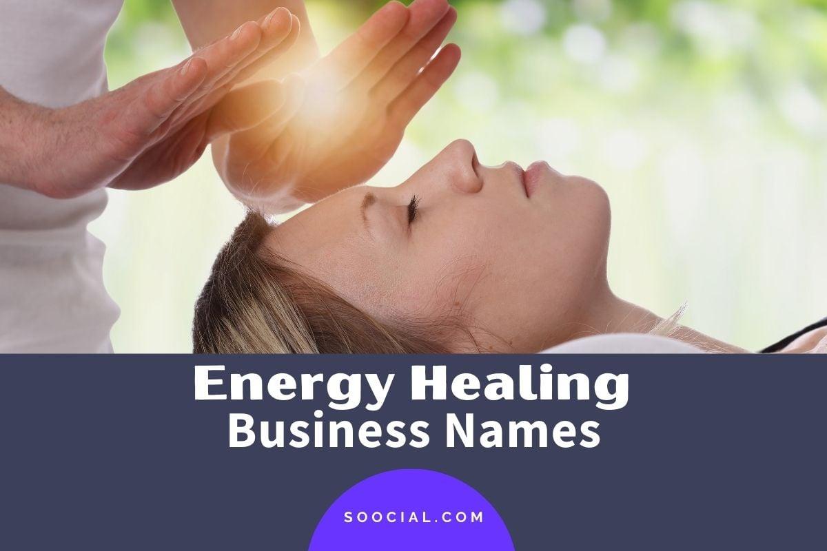 Energy Healing Business Names