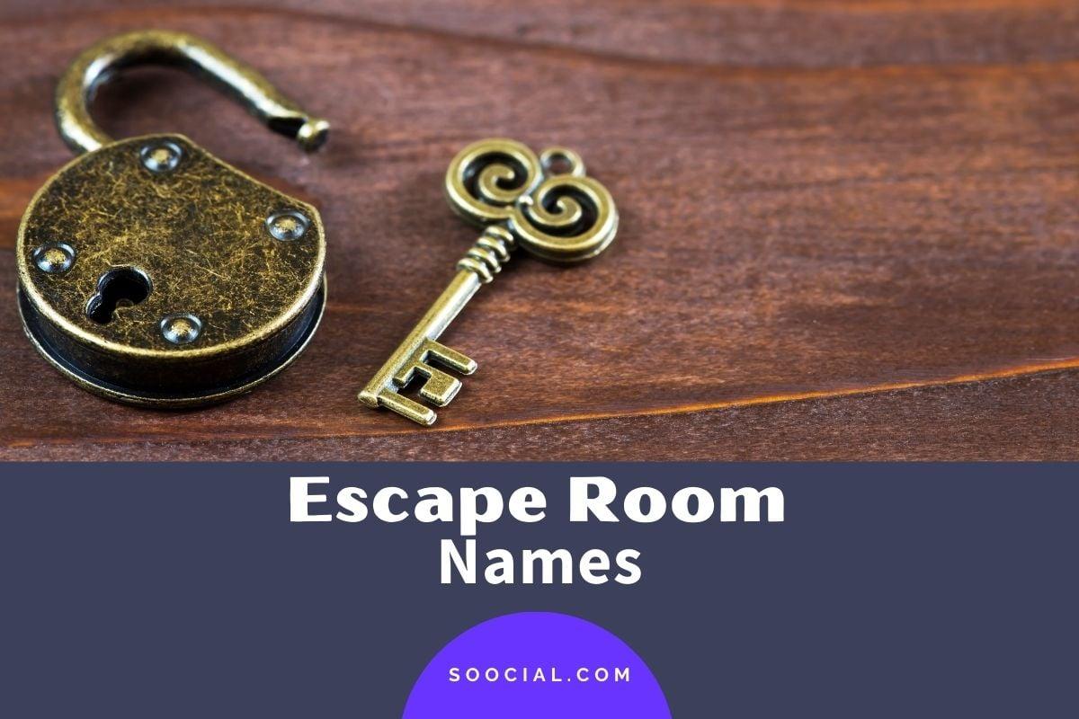 Escape Room Names