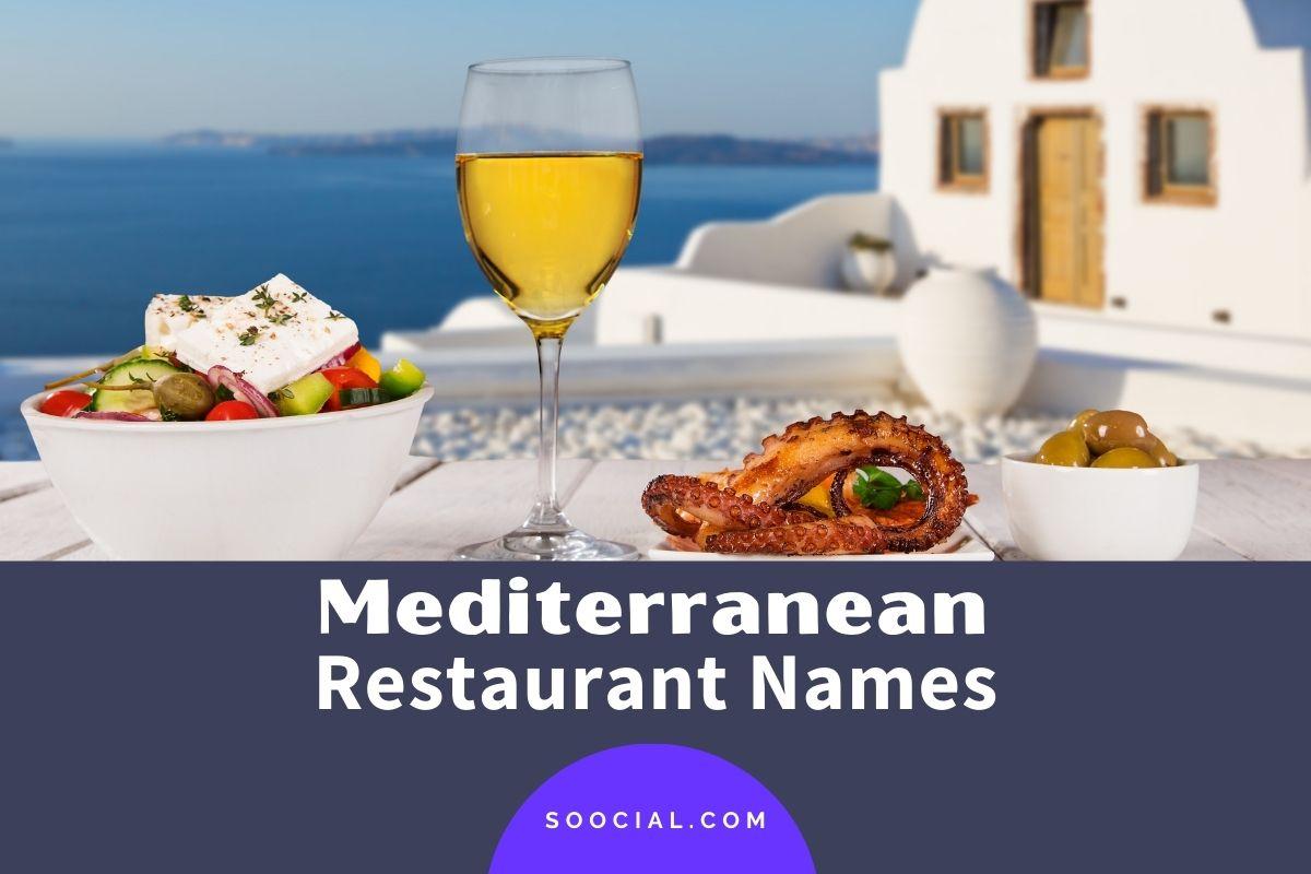Mediterranean Restaurant Names