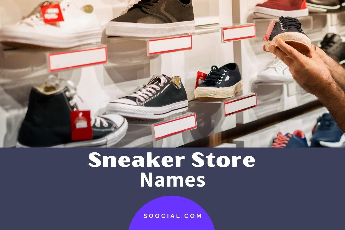 Sneaker Store Names