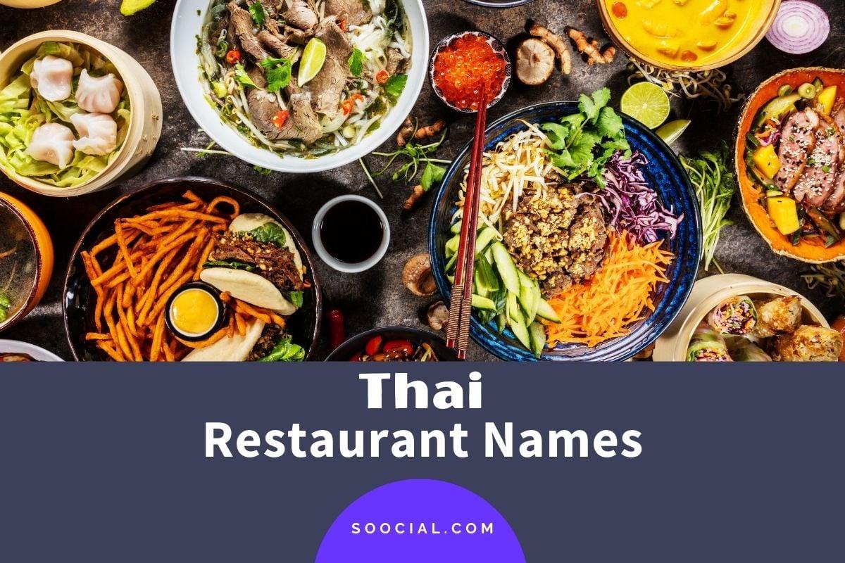 Thai Restaurant Names