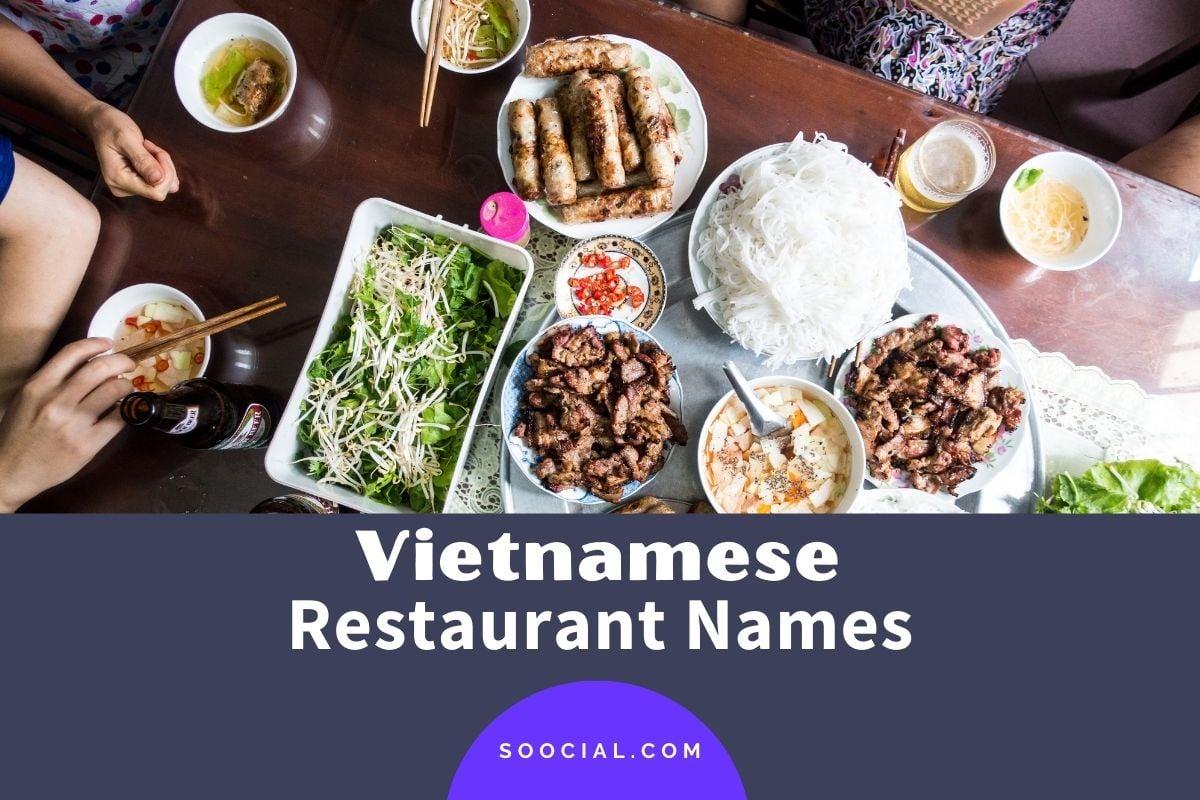 Vietnamese Restaurant Names