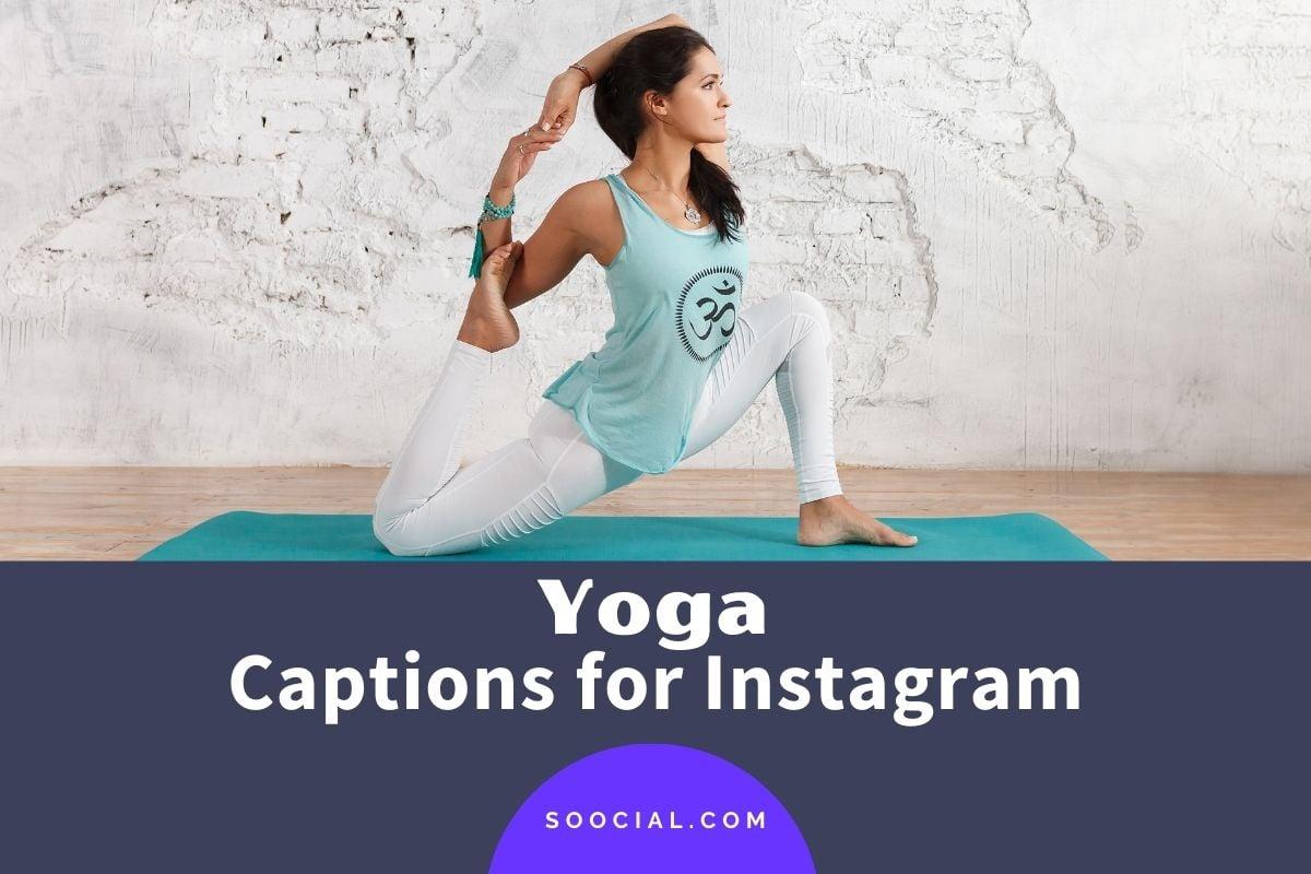 Yoga Captions